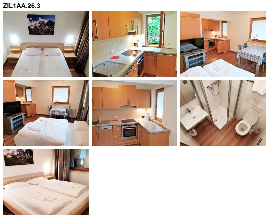 Unterkunft: Ferienwohnung ZIL1AA.26.3
