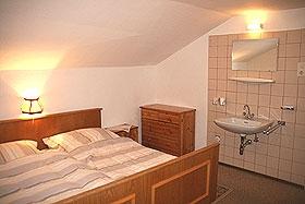 Doppelzimmer im Ferienhaus Talblick am Arlberg