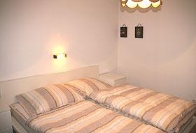 renoviertes Doppelzimmer im Ferienhaus Talblick am Arlberg
