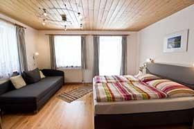 Wohnschlafzimmer der Ferienwohnung