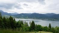 Alpenüberquerung: Blick auf den Tegernsee