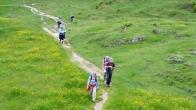 Alpenüberquerung: auf dem Weg...