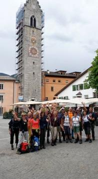Alpenüberquerung: Ruderfähre über den Tergernsee