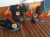 Alpenüberquerung: zu Fuß über die Alpen vom Tegernsee bis Sterzing