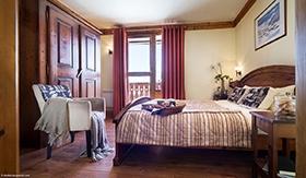 Montagnettes Residenz Le Vallon - Schlafzimmer