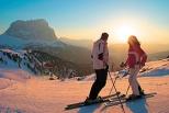 Skisafari in den Dolomiten