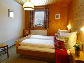 Altes Bauernhaus: Schlafzimmer