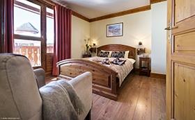 Montagnettes Residenz Les Cimes - Schlafzimmer