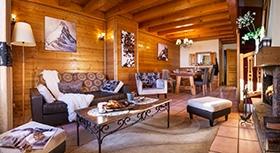 Montagnettes Residenz Les Cimes - Wohnzimmer