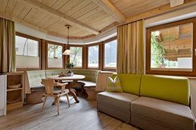 Alpinschlössl in Mayrhofen: Wohnbereich