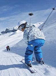 Familien-Skiurlaub und Skireisen mit Kindern