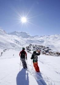 Silvester im Skigebiet