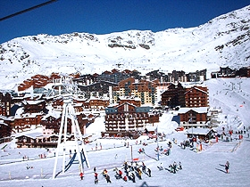 Val Thorens: Residences au Centre